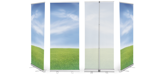 Roll-up-displays